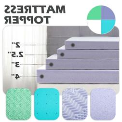 2''2.5''3''4'' Comfort Bed Mattress Memory Foam Topper Pads