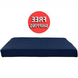 6 Quilted Mattress Full Size Soft Foam Home Bedroom Bed Slee