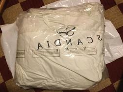 $677 Scandia Home Down Filled mattress pad FULL size