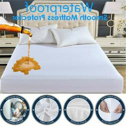 cotton waterproof mattress protector fitted sheet home