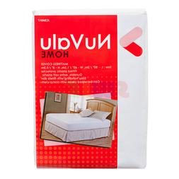 Queen Fitted Plastic Mattress Protector Lightweight Cover Be