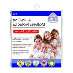 Bed Bug Blocker Hypoallergenic All In One Breathable Full Ma