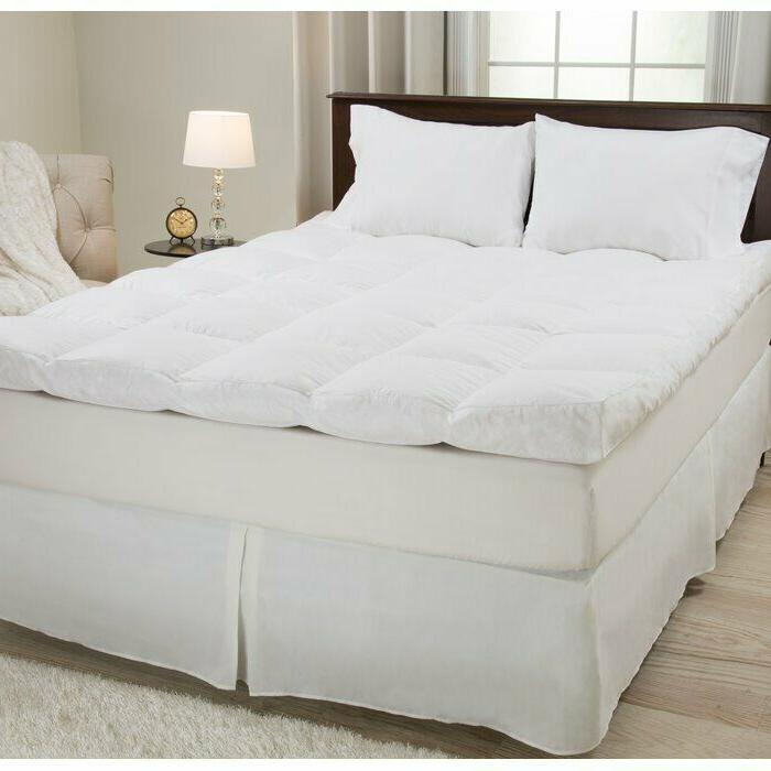 4 feathers mattress topper queen size bed