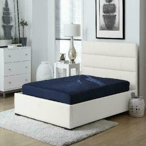 6 Quilted Mattress Full Size Memory Foam Home Bedroom Bed Sl