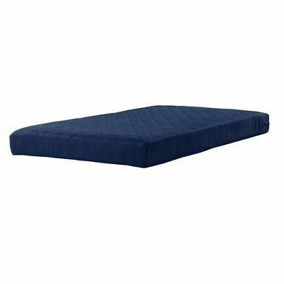 6 quilted mattress twin size polyester filled