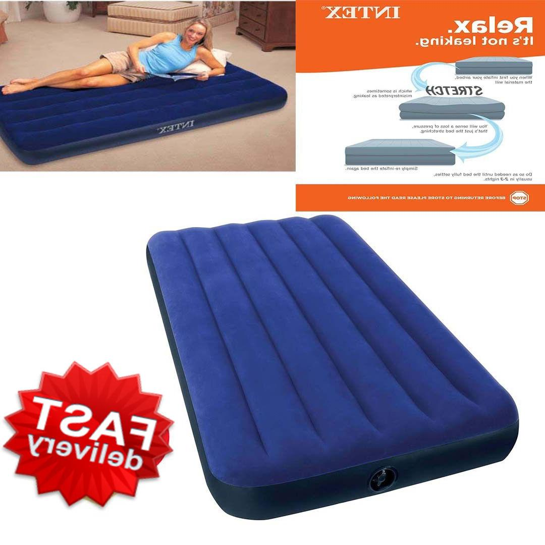 Camping Mattress Air Inflatable Intex Quickbed Size