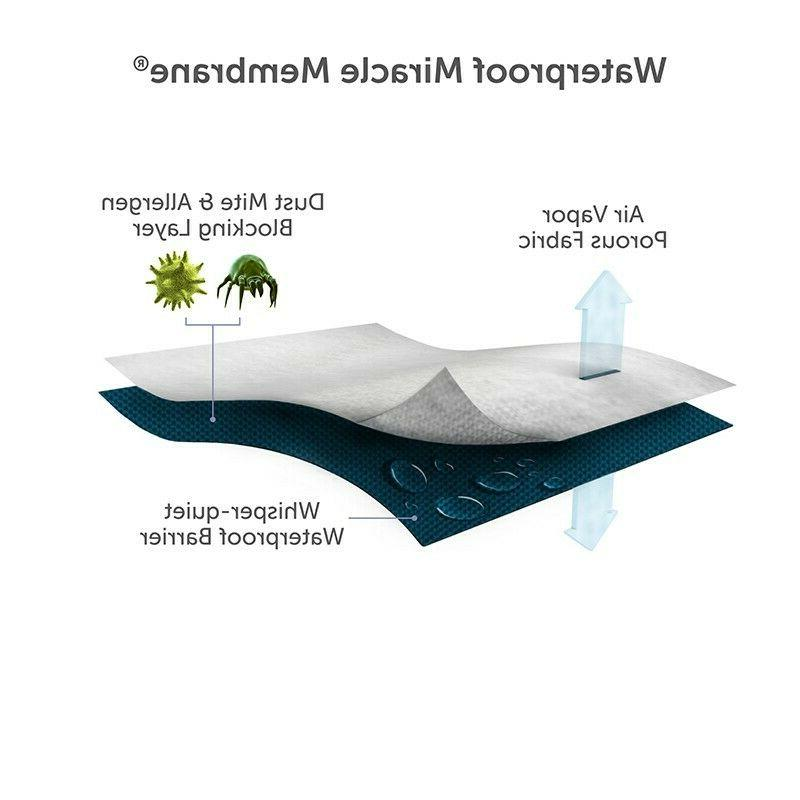 IRVINE COLLECTION Water Tencel Mattress Protector Cover