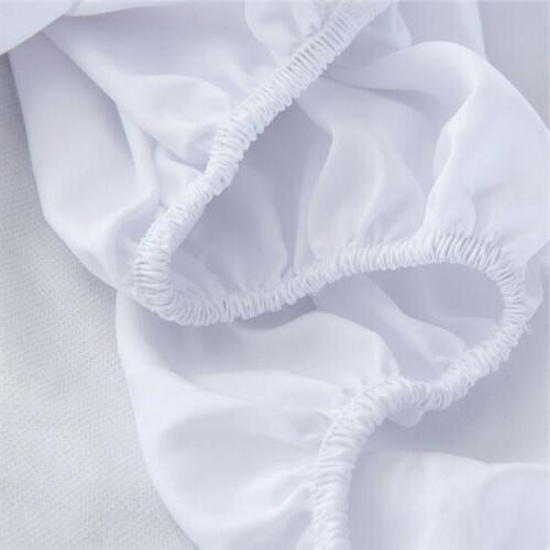Cotton Fitted Sheet Bed Cover