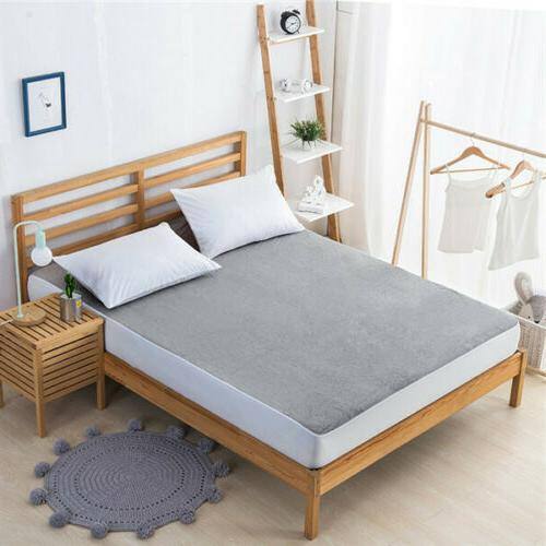 Cotton Fitted Home Bed Cover King