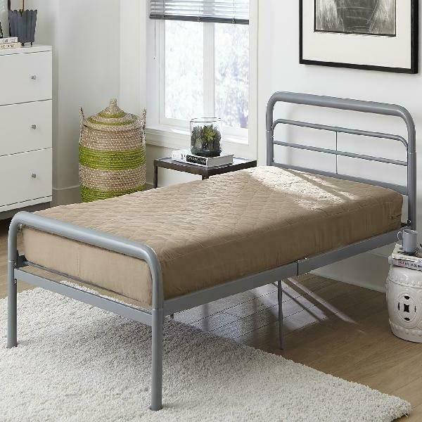 cozy tan 6 quilted mattress twin size