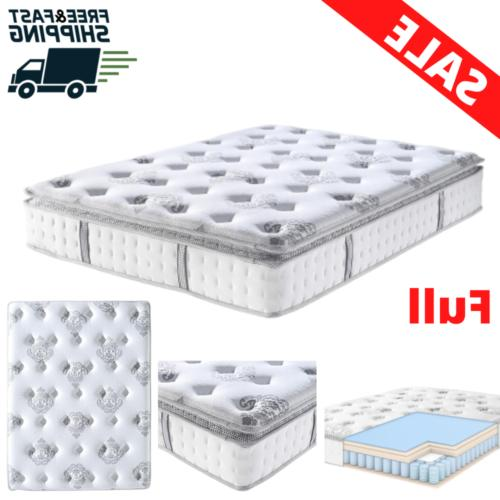 full size mattress 12 inch gel infused
