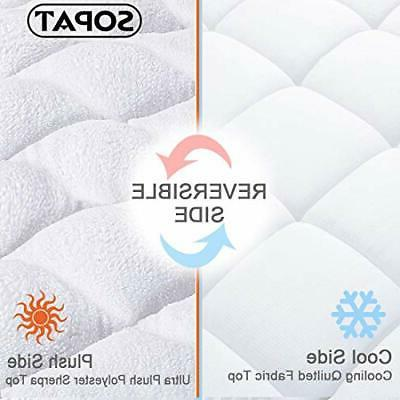 King Pad Cover Cooling Topper Pillow Top with