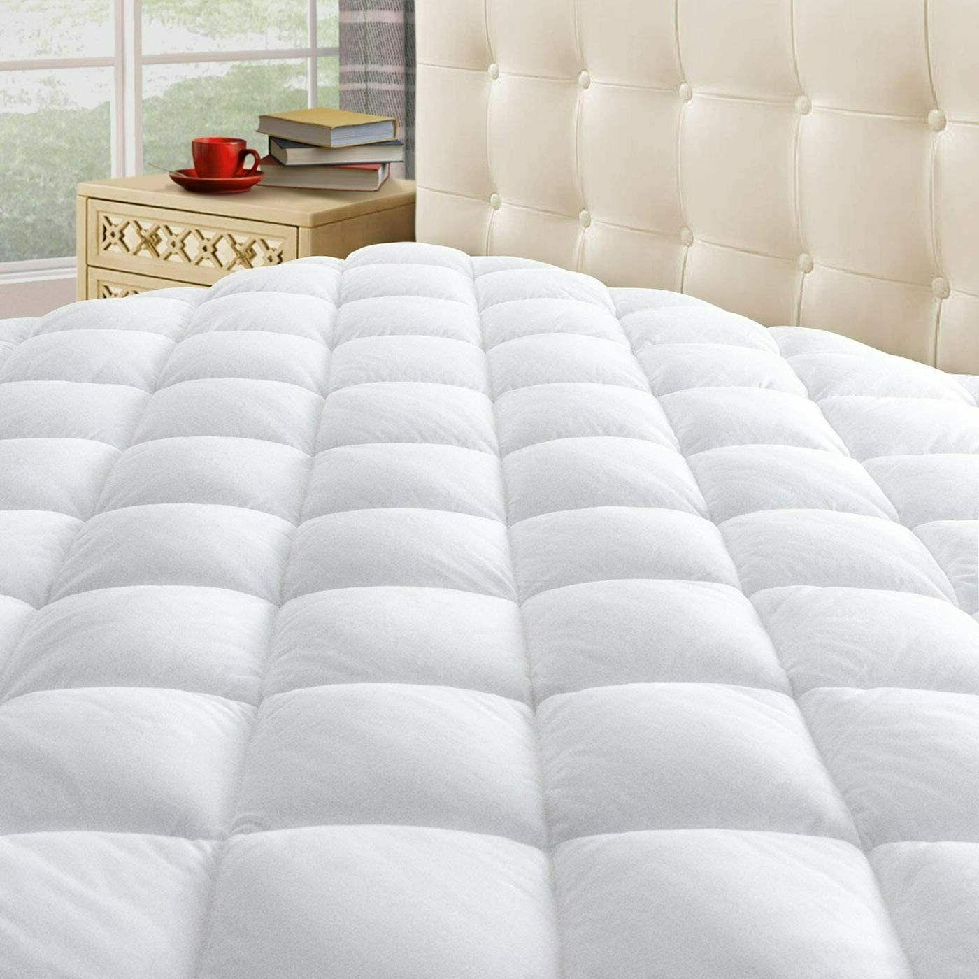 king size mattress pad cover memory foam