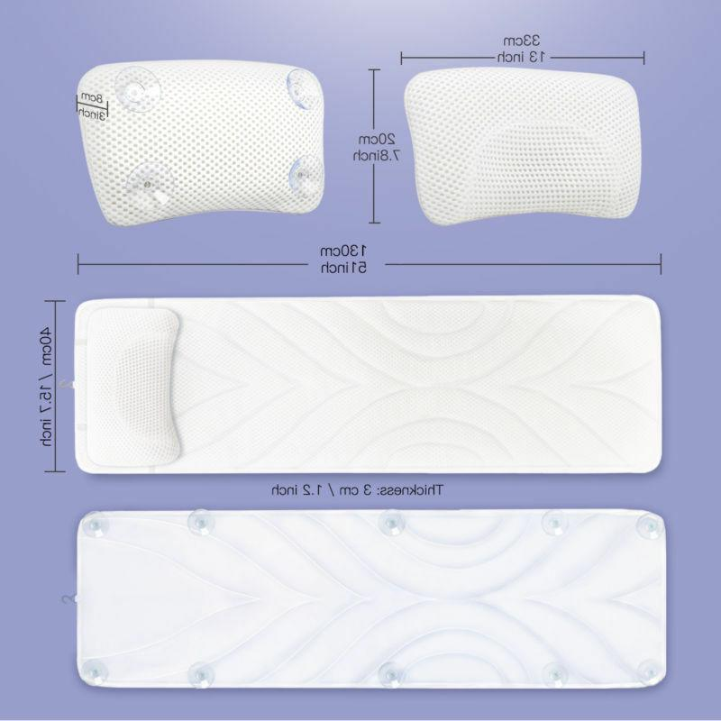 Luxury Full Bathtub Pillow Quilted Health Gift