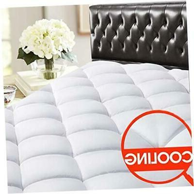 king reversible mattress pad cover cooling bed