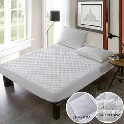 Mattress Cover Waterproof Brushed Fabric Anti Dust Home Hote