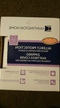 Huntington Home Mattress Pillow Cover Allergy Protection Wat