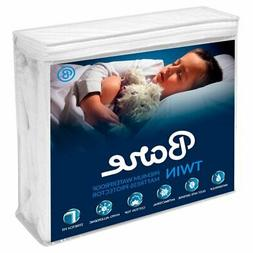 Premium Waterproof Hypoallergenic Mattress Protector by Bare