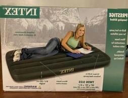 "Intex Prestige Twin 8.75"" Inflatable Airbed Mattress/4 both"