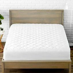 Premium Quilted Fitted Mattress Pad - Cooling Mattress Toppe