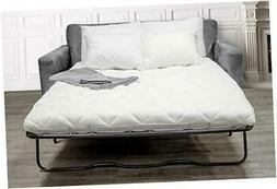 sleep solutions pull out sofa bed memory