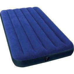 "Intex Twin 8.75"" Classic Downy Inflatable Airbed Mattress Ho"
