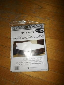 Better Home Twin Size Fitted Peva Mattress Cover Open Bottom