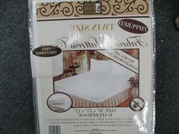 Better Home Zippered FABRIC  Mattress Cover Waterproof/ Bug